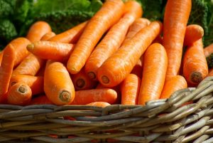 Carrots for spring planting