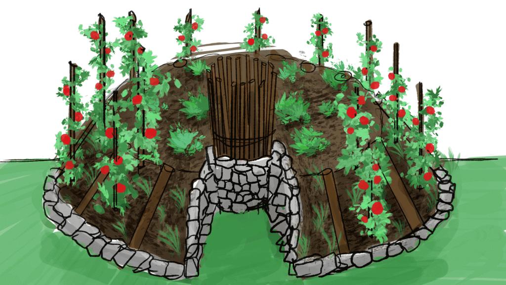 keyhole garden beds