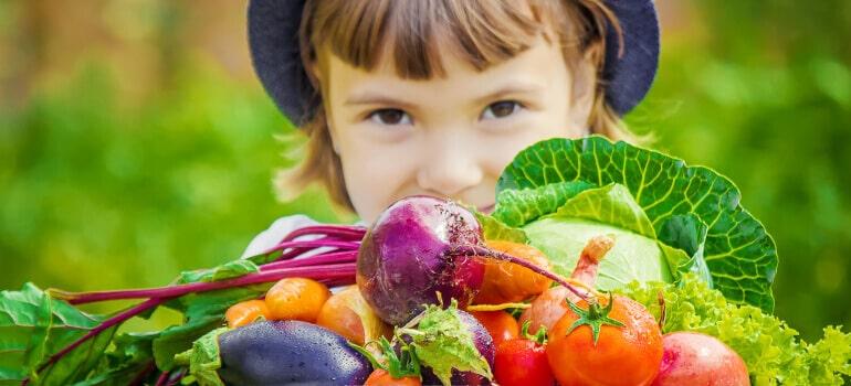 How to start kids vegetable garden